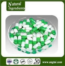 100% GMP,Halal Certified Green white empty hard gelatin capsule shell