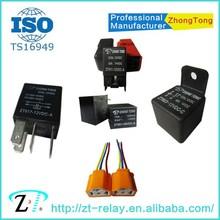 general auto relay 6v 12v 24v 20A 30A 40A 80A relay