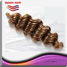 Popular fashion synthetic hair for braiding