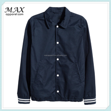 New Arrival Mens online exclusive twill soft cotton darker navy jacket unlined