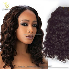 2015 Aliexpress Hair Virgin Unprocessed High quality curly weave ponytail