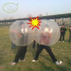 Factory Direct Supply Entertainment Fwulong 1.5M And 1.7M PVC 1.0mm Inflatable Bumper Ball For Sale