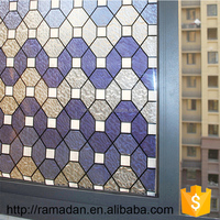 Home decoration high quality privacy protective pvc glass film 3D static cling window film sun control window film manufacturer