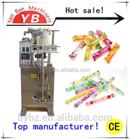 PLC Control System Hot Sale YB-330Y Fully Automatic Liquid Ice Lolly Packing Machine