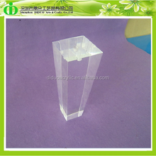 DDH-L008 Luxury Acrylic Contemporary Sofa Leg, Hot Sales! Acrylic Replacement Sofa Leg, Transparent Plastic Legs for Sofa
