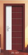 2015 interior del pvc de madera de doble colores simples modelos de puertas interna