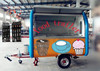 Main Product !!!Street vending cart/ Mobile kitchen for fast food and drinks and ice cream and snack