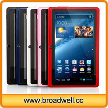 Hot Selling Allwinner A23 Dual Core Android 4.2 Cheapest 7 inch Tablet With Bluetooth