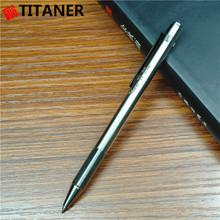 Factory Wholesale Ti Stationary Titanium Material Order Pens Bolt-Action Tactical Pen