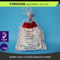 absorbent cotton pad/cotton ball 0.6g/pc