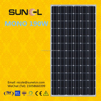 Hot selling A grade high efficiency MONO 190W solar PV panel
