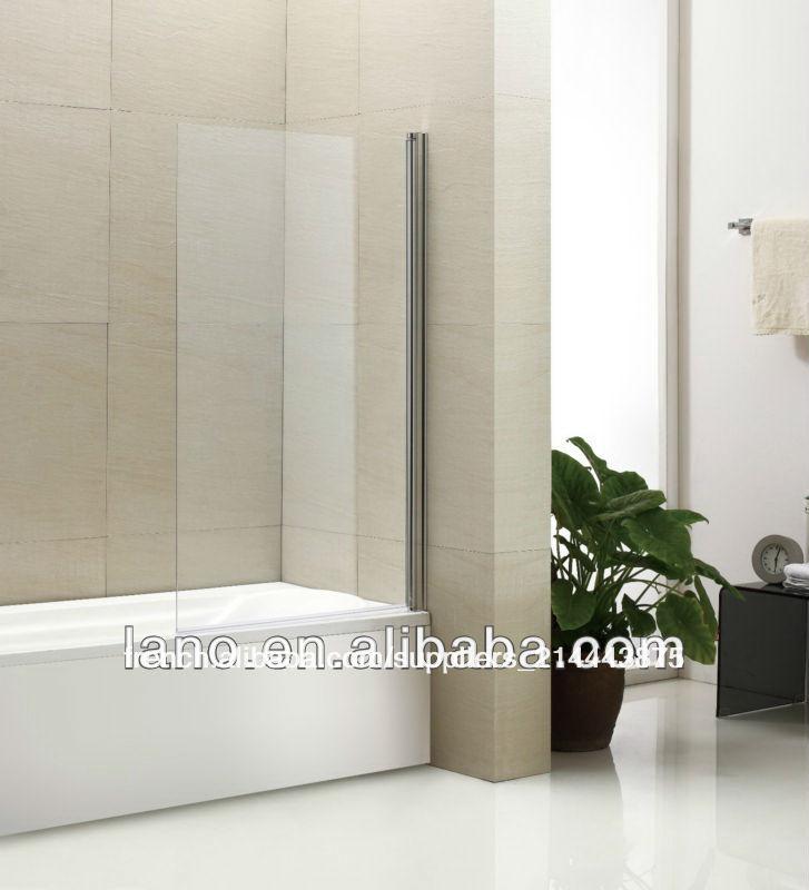 pivot 180 rayon en verre encadr e dans salle de bain douche panneau de porte cran ln u05. Black Bedroom Furniture Sets. Home Design Ideas