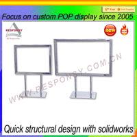 countertop picture display rack/displaying picture metal rack
