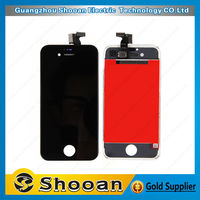 low price chinese mobile for iphone 4s digitizer with assembly