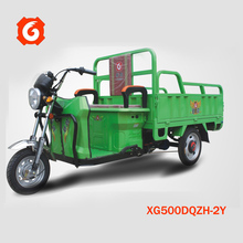 New design Xinge 3-wheel electrical van fast food truck for sale/ice cream trailer