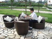 outdoor rattan chairs set