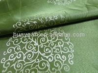 Circle design and jacquard tailor cutting fabric