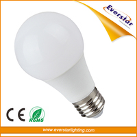7W E27 B22 Base 230V 270 Degree 560lm 270 Degree LED Lighting Bulb