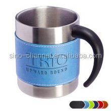 Novelty Quality Stainless steel Coffee Cup With removable sleeve