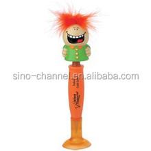 Funny custom orange deisgn cheap pen