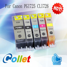 For Canon PGI-725 CLI-726 compatible ink cartridge used in PIXMA IP4870/IX6560/MG5170/MG5270/MG6170/MG8170/MX886