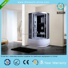Comfortable enclosed steam shower room massage complete shower cabin