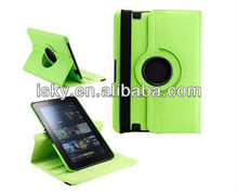 """Green 360 Degree Rotating Magnetic Leather Case Smart Cover Stand for Amazon Kindle Fire HD 8.9"""" tablet case"""