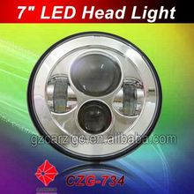 Canton Fair new/hot product Best quality motorcycle 7 inch LED light for 4X4 off road