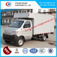Changan mini box van truck,small delivery van
