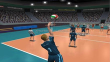 Indoor volleyball sports flooring for volleyball courts