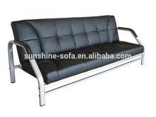 Armature en métal futon canapé lit cum pour la maison, bureau