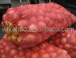 tubular malha de polipropileno saco para o vegetal
