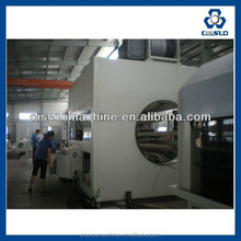 PVC SINGLE WALL CORRUGATED PIPE EXTRUSION MACHINERY PVC PIPE EXTRUDING LINE