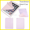 For iPad Smart Case for ipad air2 Smart Case Transformers Multi-angle Stand Leather Case for Apple Original Style New Hot