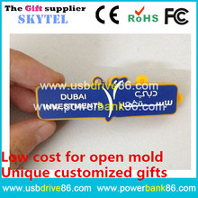 cheap custom pvc usb flash drive 2gb 4gb 8gb advertising gifts for Dubai Investments,bank companies,financial service companies