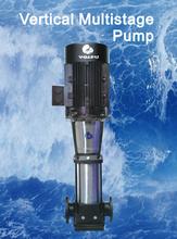 Vertical multi-stage pump