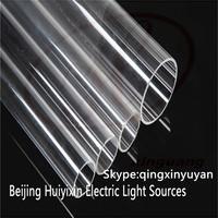 Wholesale clear heat-resistant quartz glass tube for UV Ultraviolet lamps