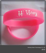 custom baller bracelets lovers silicone/wristbands for lovers