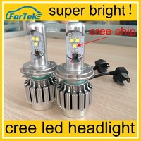 super bright h4 led headlight bulb h4 cree led headlight wholesale