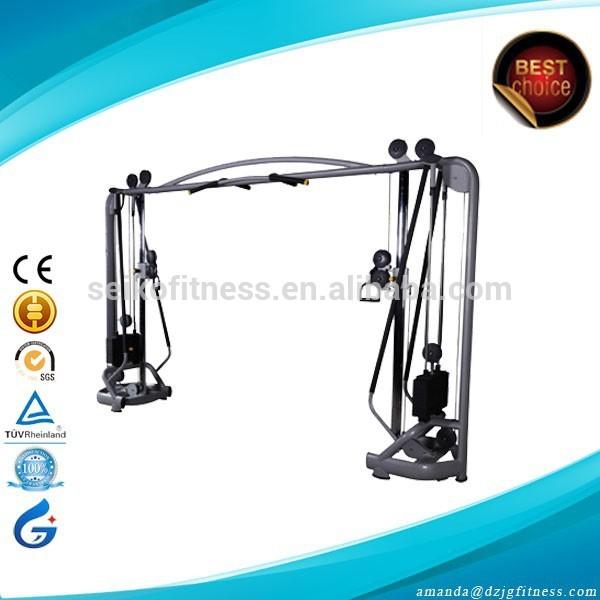 Pasador gimnasio Multi cargado JG-1814 Commercial Fitness Equipment/equipo de gimnasio/cable cruzado