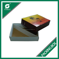 FRUIT PACKING CORRUGATED CARTON CUSTOM PACKING BOX FOR FRESH FRUIT AND VEGETABLES WITH REMOVED LID