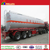 three axles liquid asphalt tanker trailer with german suspension and air suspension optional