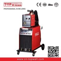 TOPWELL igbt inverter system with 4-rolls wire-feeder mig welding machine MIG-500i