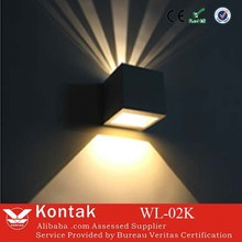modern outdoor led up and down wall lightings/outdoor led up and down wall lighting hot sale