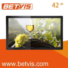 42 inches Full HD Commercial Kiosk Digital IR Touch Lcd Ad