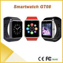 Wearable Device CE Rohs Android Sim Card Bluetooth GT08 Smart Watch Mobile Phone 2015