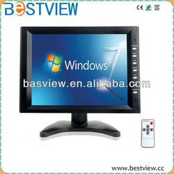"""10.4"""" Durable black ABS plastic mount monitor"""