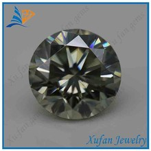 precious round natural moissanite diamond