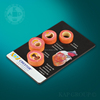 Human plastic four stages artery display board for doctor