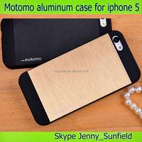 Motomo PC+Aluminum mobile phone case for iphone 5 5s , for iphone case 5s 6 4, for iphone 5 case